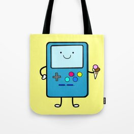 Ice cream lover video game Tote Bag