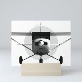 Cessna 152 Front view Mini Art Print