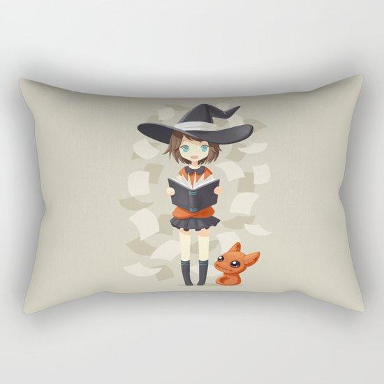 Little Witch 2 Rectangular Pillow