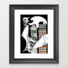 super bad man Framed Art Print