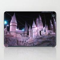 hogwarts iPad Cases featuring Hogwarts by Anabella Nolasco