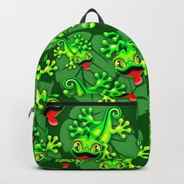 Gecko Lizard Baby Cartoon Backpack