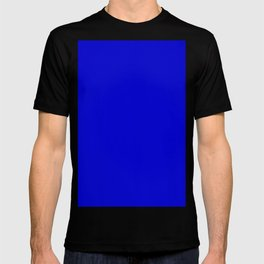 Medium blue T-shirt