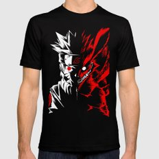 Naruto X-LARGE Black Mens Fitted Tee