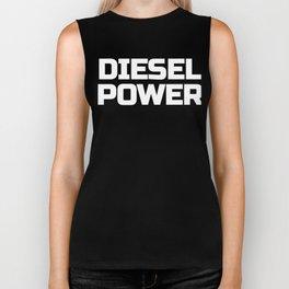 Diesel Power Text Roll Coal Truck 4X4 Offroad Biker Tank