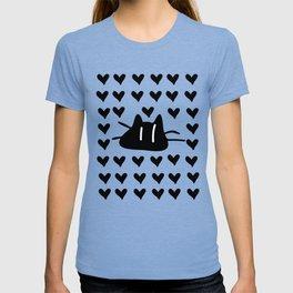 LOVE LOVE CAT T-shirt