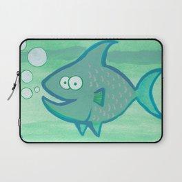 Happy Fish!!!! Laptop Sleeve