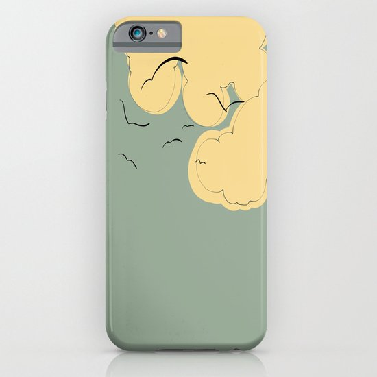 The Yellow Clouds iPhone & iPod Case