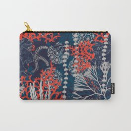 Corals and Starfish Carry-All Pouch