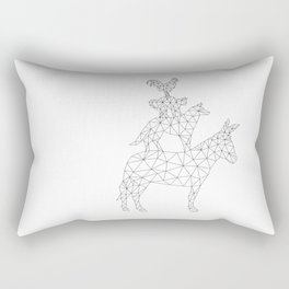 bremen musicians Rectangular Pillow