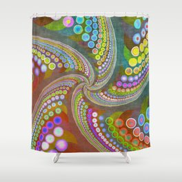 life is full of colors -2- Shower Curtain