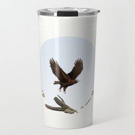 Wedge-Tailed Eagle (Aquila audax fleayi) Travel Mug