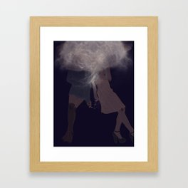 you might be blind but you are free Framed Art Print