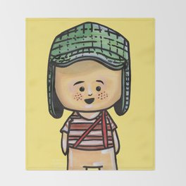 El Chavo Del Ocho Throw Blanket
