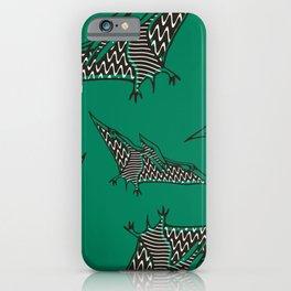 Pterosauria green iPhone Case
