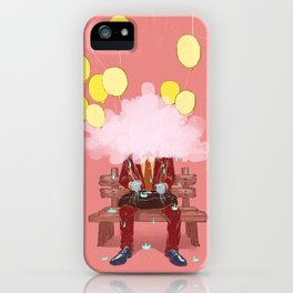 Mr. Confused iPhone Case