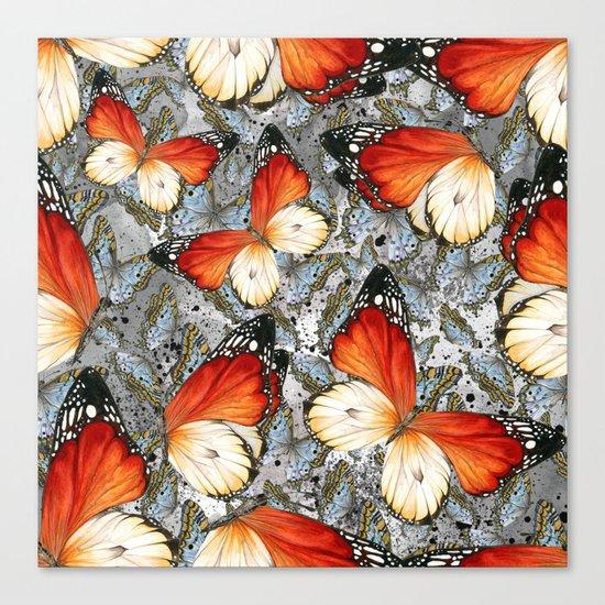 Butterflies #2 Canvas Print