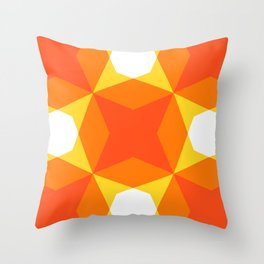 Geofluro #4 Throw Pillow