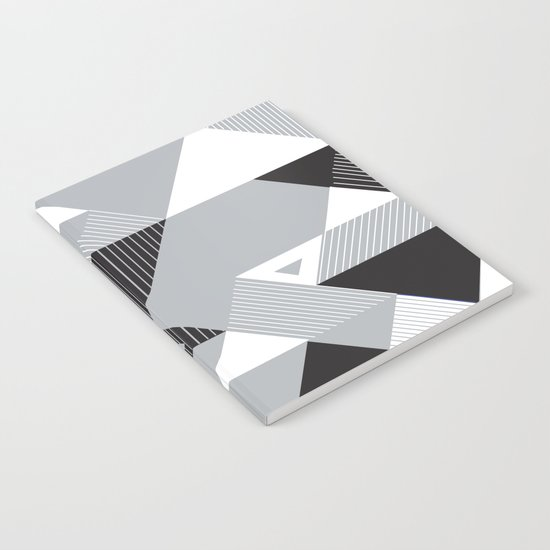 Silver Transparency Notebook