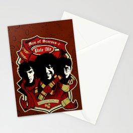 Men of Scarves Stationery Cards