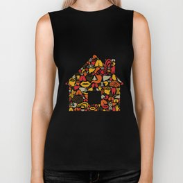 Body the house Biker Tank