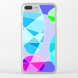 Color ludens 2 Clear iPhone Case