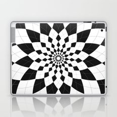 Black & White Argyle Laptop & iPad Skin