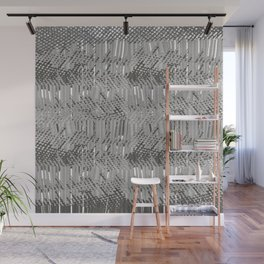 Gray abstract background Wall Mural
