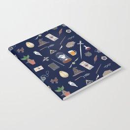 Harry Pattern Night Notebook