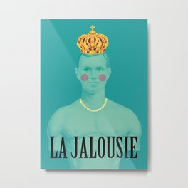 La jalousie Metal Print
