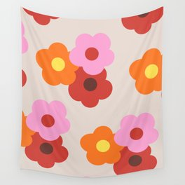 Bunch of Flowers  Wall Tapestry
