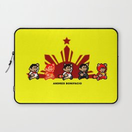 8-bit Andres Bonifacio 2 Laptop Sleeve