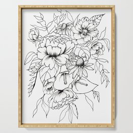 Botanical Bouquet Serving Tray
