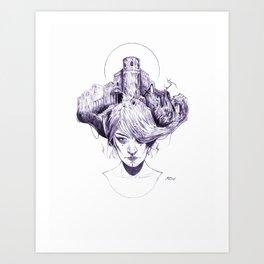 R E I G N Art Print