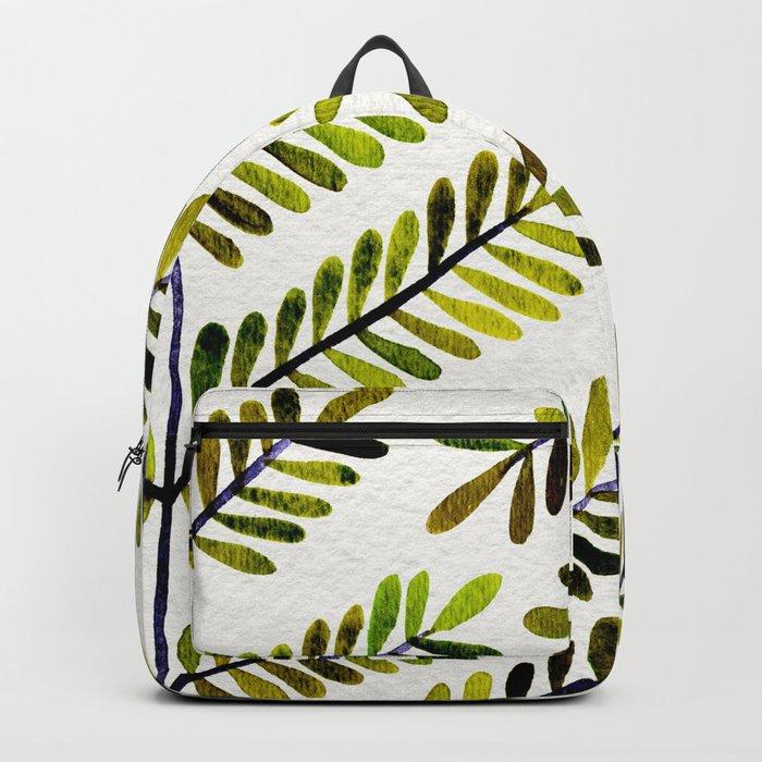 Green Leaflets Backpack