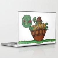 turtles Laptop & iPad Skins featuring Turtles by BNK Design