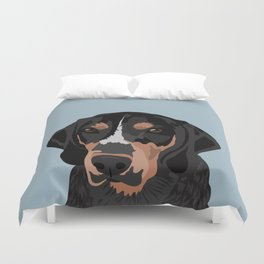 Doc Bluetick Coonhound Duvet Cover