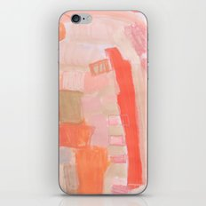 Peach and Feather iPhone & iPod Skin