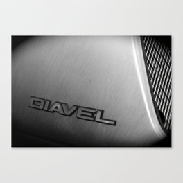 Diavel Detail Canvas Print