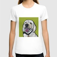 kermit T-shirts featuring Kermit the labradoodle by Pawblo Picasso