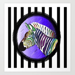 Rainbow Bites Art Print