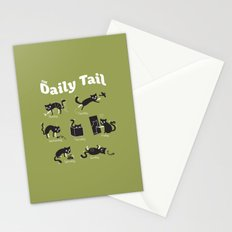 The Daily Tail Cat Stationery Cards