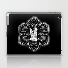 Snowy Owl Flake Laptop & iPad Skin
