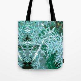 Textured Rorschach Tote Bag
