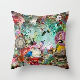 The Secret Garden Throw Pillow