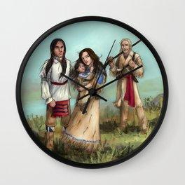 The Cherokee Years Wall Clock