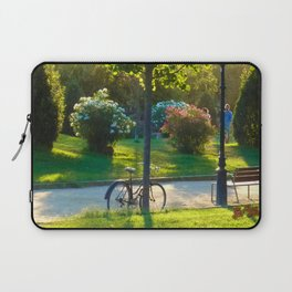 Bicycle at Barcelona Laptop Sleeve