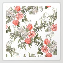 The Master Gardener #PorcelainWhite Art Print