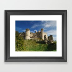 Conisborough Castle Framed Art Print