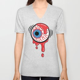 Bloody Eyeball Unisex V-Neck